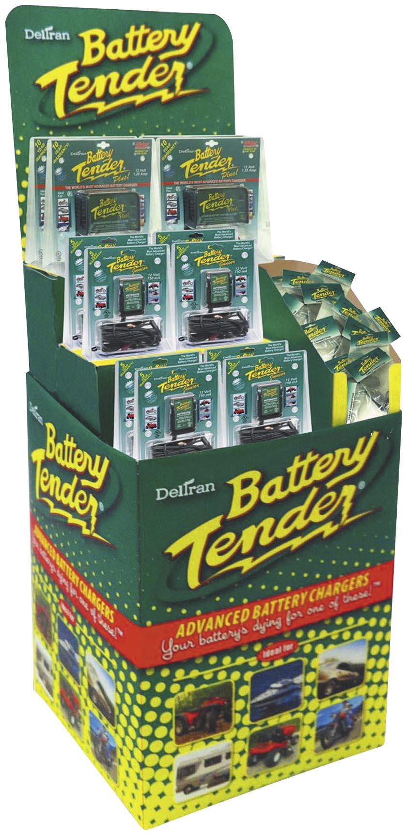 Battery Tender Battery Tender Free Standing Floor Display