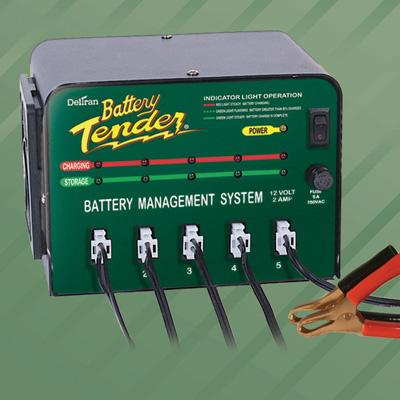 Battery Tender 5 Bank Battery Tender - 12V