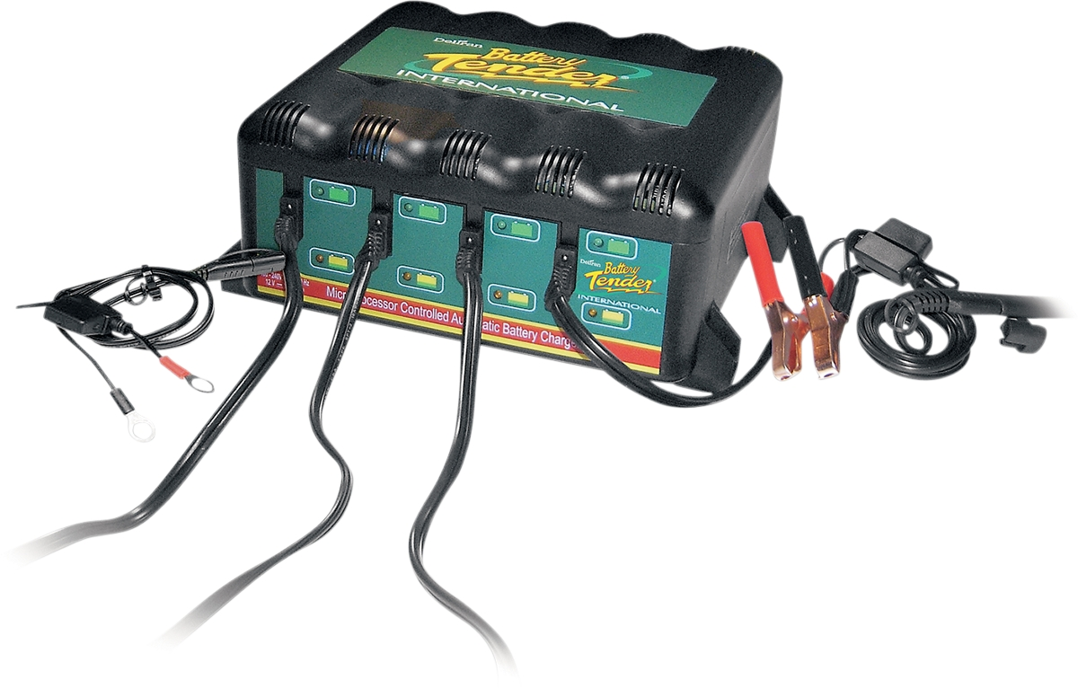 Battery Tender 4 Bank International Battery Charger
