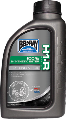 Bel Ray H1-R Racing 100% Synthetic Ester 2T Engine Oil