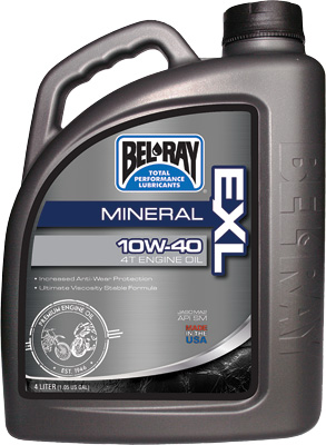 Bel Ray EXL Mineral 4T Engine Oil