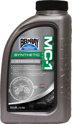 Bel Ray MC-1 Racing Full Synthetic 2T Engine Oil