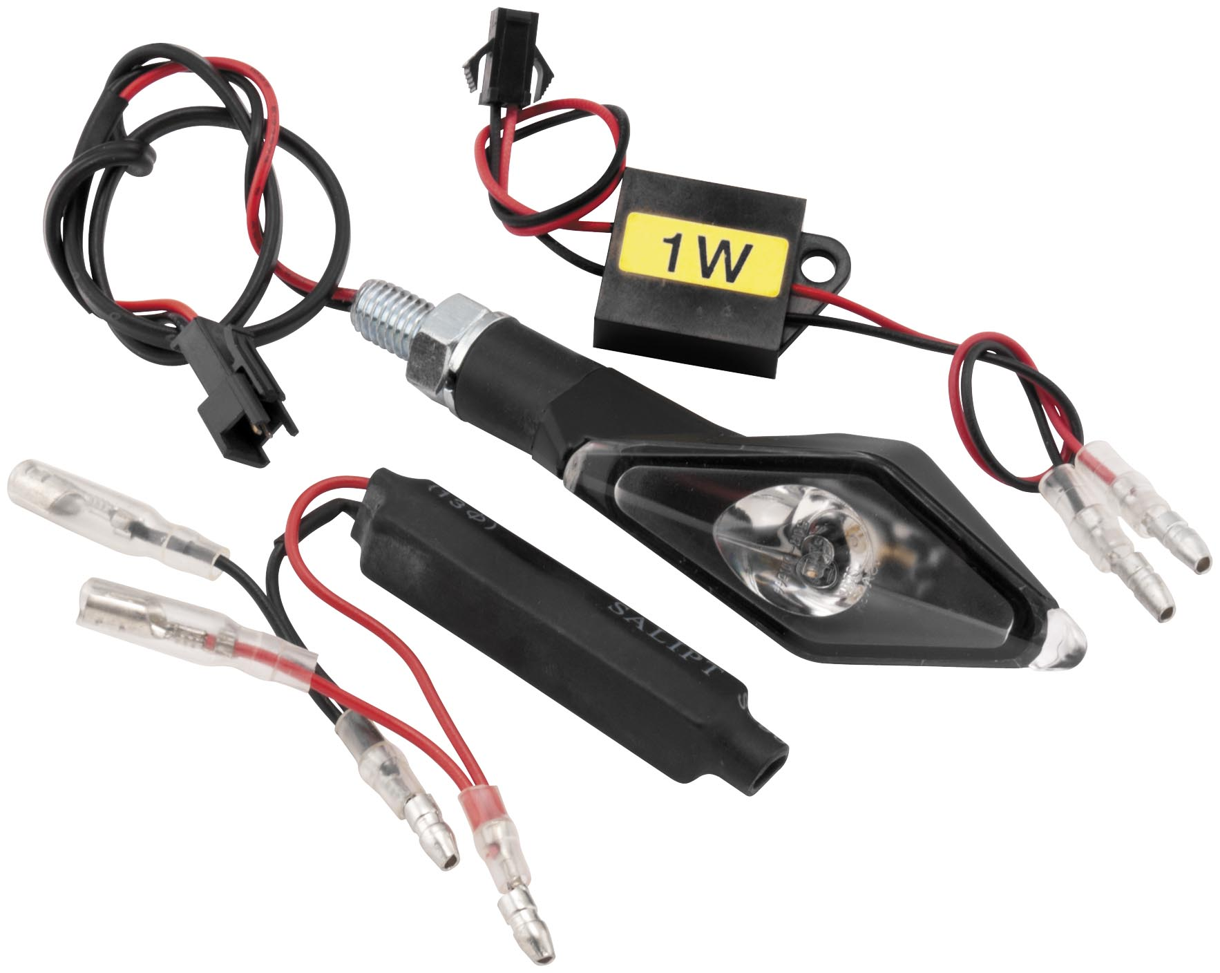 BikeMaster Alien Angle LED Turn Signals with Resistors