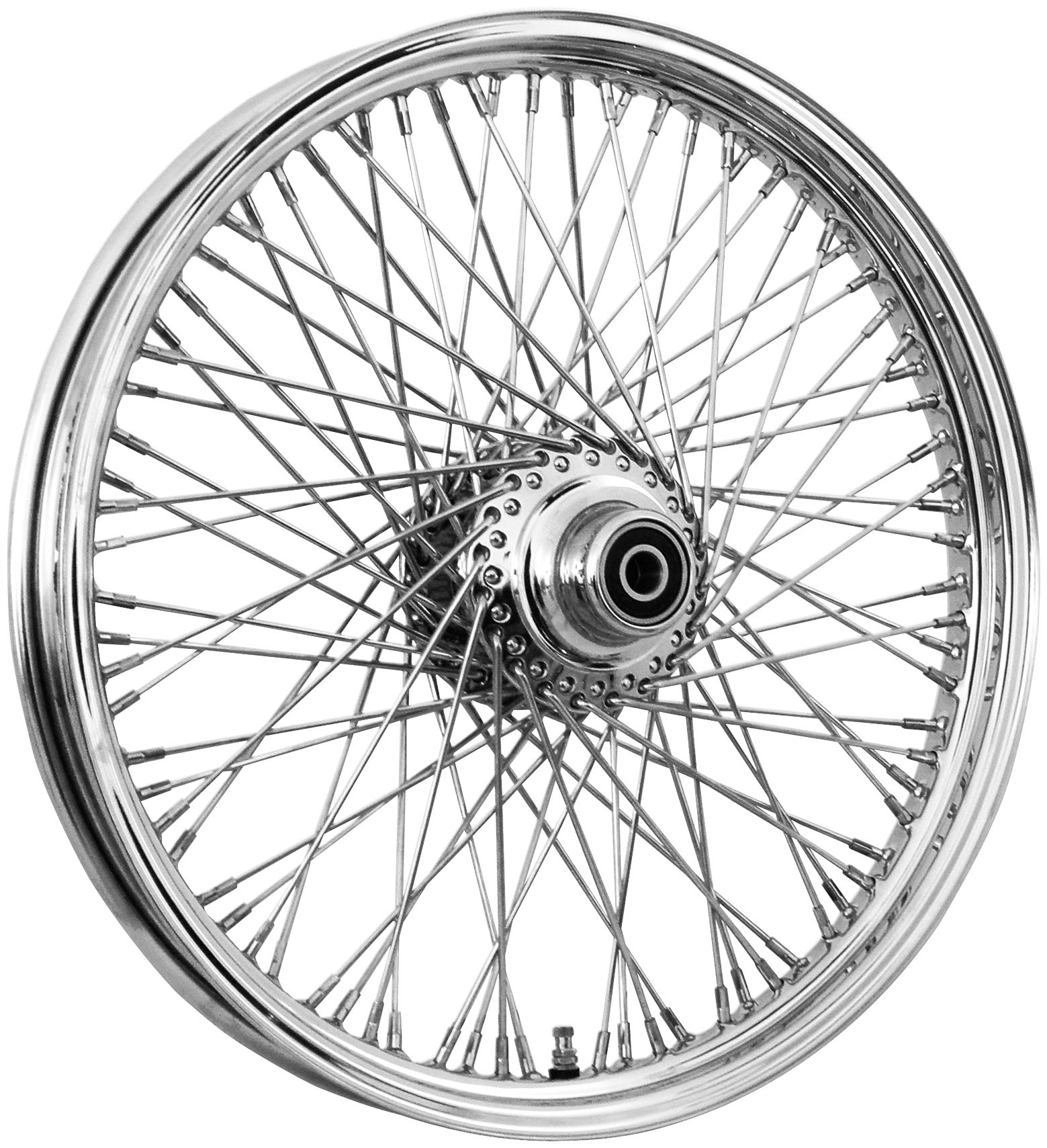 16 x 3.5in. Single Disc Front Wire Wheel