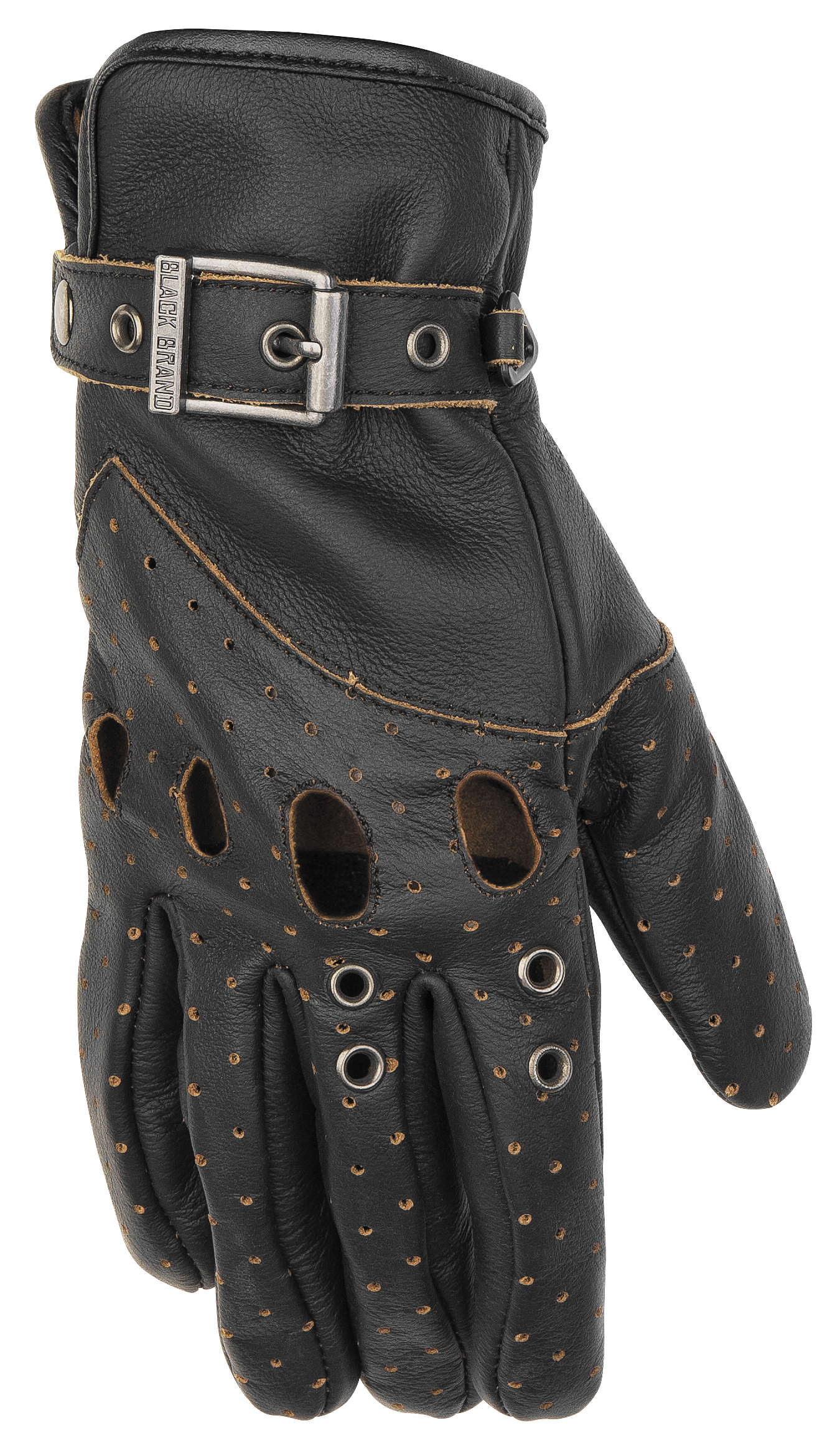 Womens leather motorcycle riding gloves - Black Brand Vintage Venom Women 039 S Motorcycle