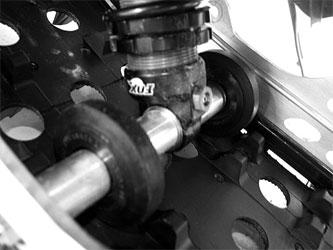 Black Diamond Xtreme Pro Lite - Inboard Wheel Kit for Arctic Cat