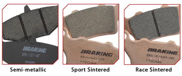 Braking CM46 Sintered Brake Pad