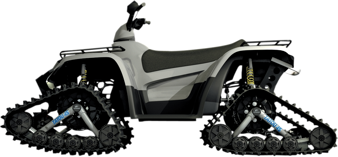 CAMSO - ATV ATV T4S Tatou Track System