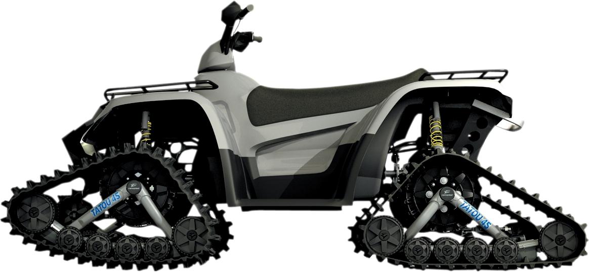 CAMSO ATV T4S Tatou Track System