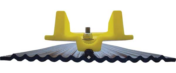 Caliber LowPro Glides Wide - Trailer Guide System