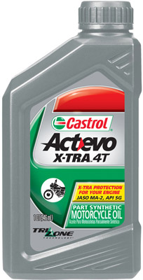 Castrol Actevo X-Tra 4T Synthetic Blend