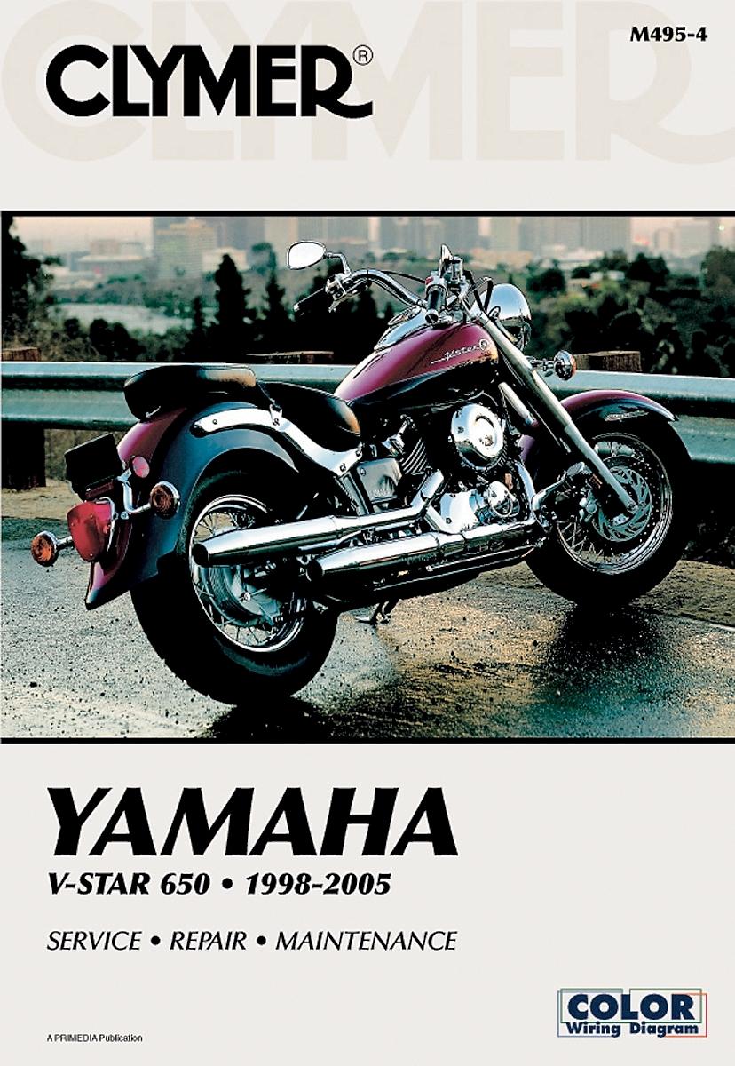 Clymer Yamaha Twins XVS650 V-Star Manual