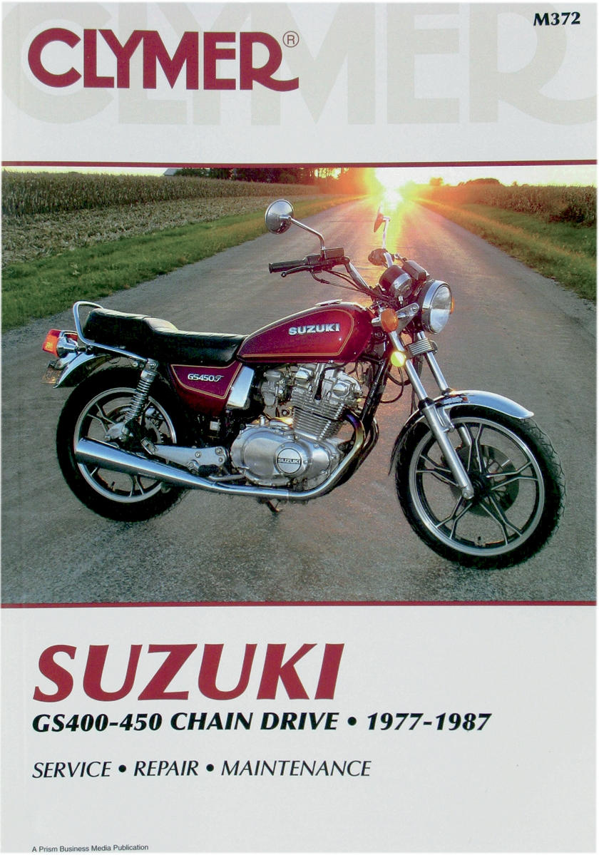 Clymer Suzuki Twins 400-450cc Manual