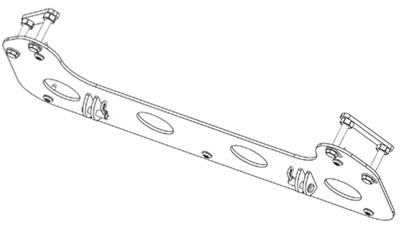 Cycle Country Mid-Frame Plow Mount Kit