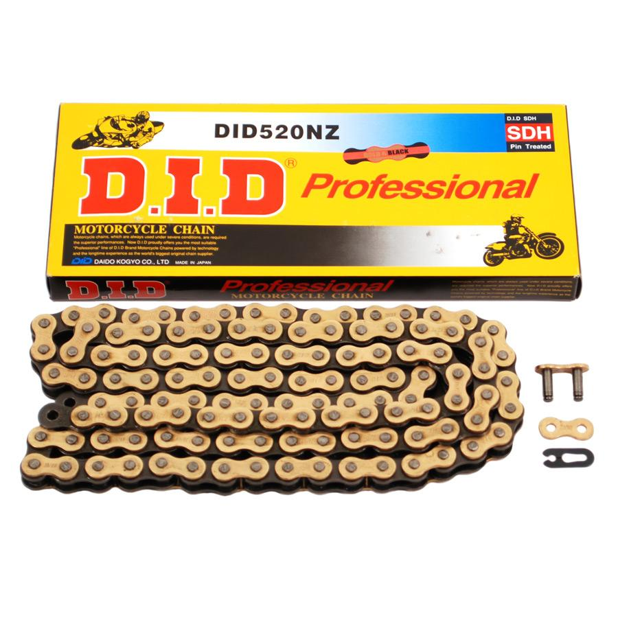 D.I.D. 520 NZ Super Non O-Ring Series Chain