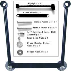 Dowco Saddlebag Hard Mount Kit