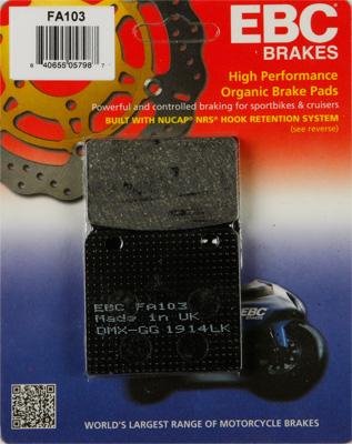 EBC Organic Kevlar Brake Pads