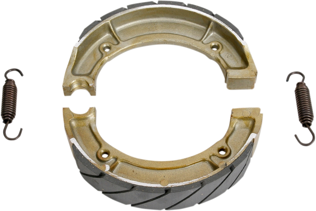 Grizzly Brake Lining : Ebc g grooved brake shoes ebay