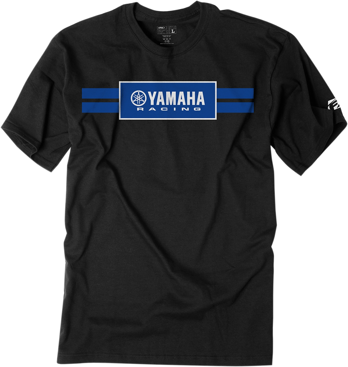 factory effex yamaha racing stripes t shirt ebay. Black Bedroom Furniture Sets. Home Design Ideas