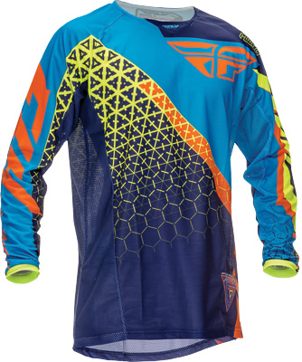 Fly Racing Kinetic Youth Trifecta Jersey