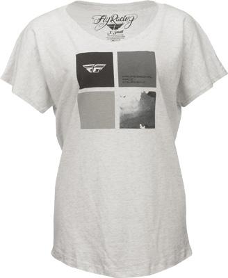 Fly Racing Tetrad Ladies T-Shirt