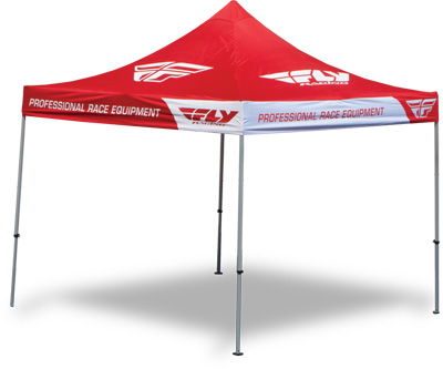 Fly Racing Aluminum Canopy w/Heavy Duty Frame