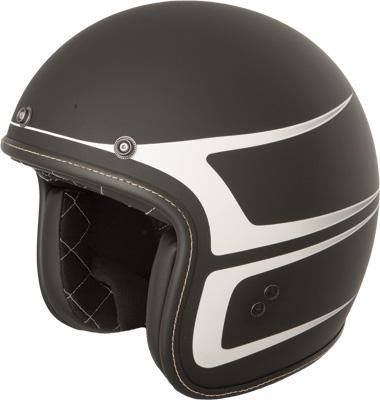 .38 Scallop Open Face Helmet