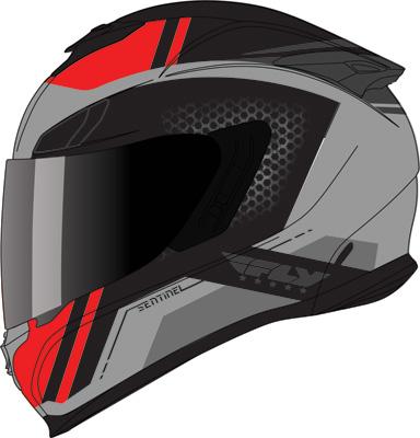 Sentinel Mesh Graphic Helmets