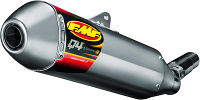 FMF Racing Q4 Spark Arrestor Slip-On Hexagonal Muffler