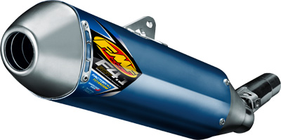 FMF Racing Factory 4.1 RCT Slip-On Exhaust with Titanium Mid Pipe