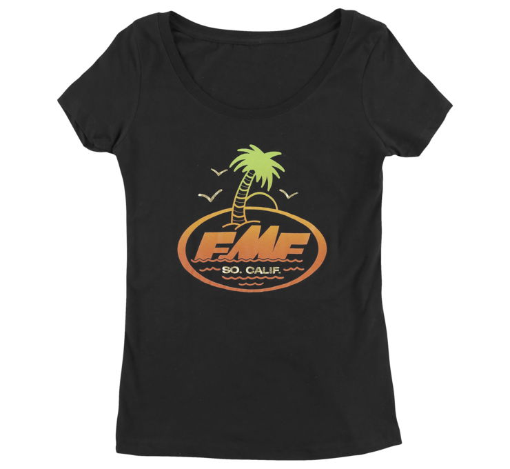 FMF Racing Captain Quint Scoop T-Shirt