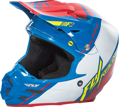Fly Racing F2 Carbon Mips Canard Replica Helmet