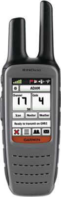 GARMIN Rino 650 Two-Way Radio