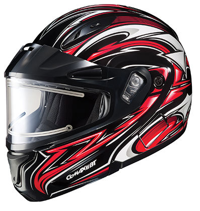 HJC CL-Max 2 Atomic Electric Snowmobile Helmet