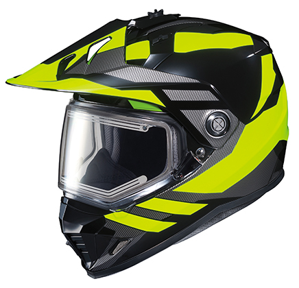 HJC DS-X1 Lander Frameless Electric Shield Snow Helmet