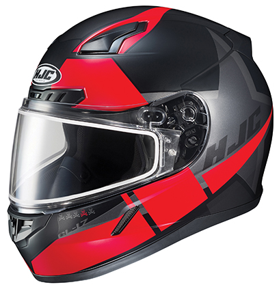 HJC CL-17 Boost Frameless Dual Lens Snow Helmet