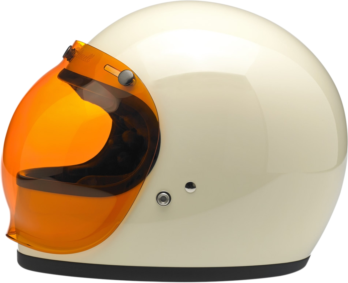 Helmet Bubble Shield Bubble Shield Amber