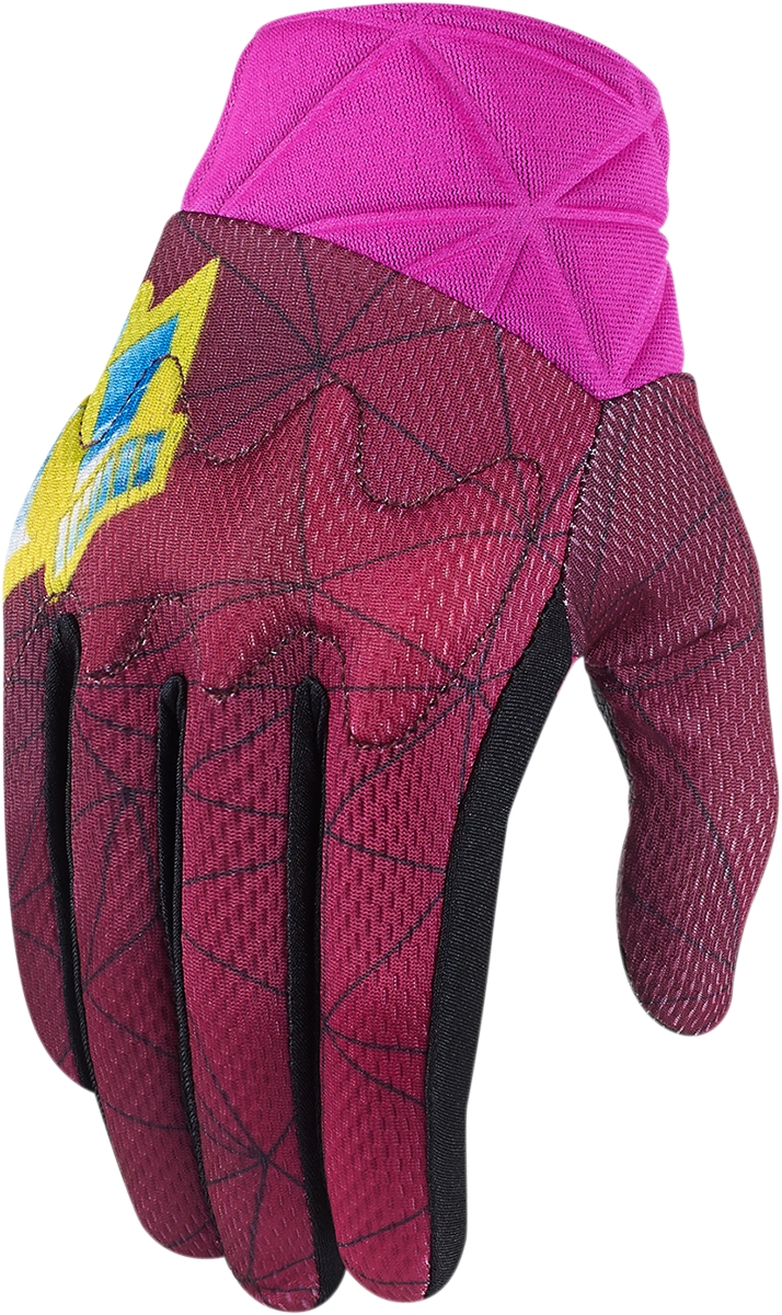 Motorcycle gloves mesh - New Icon Anthem Blender Women 039 S Mesh