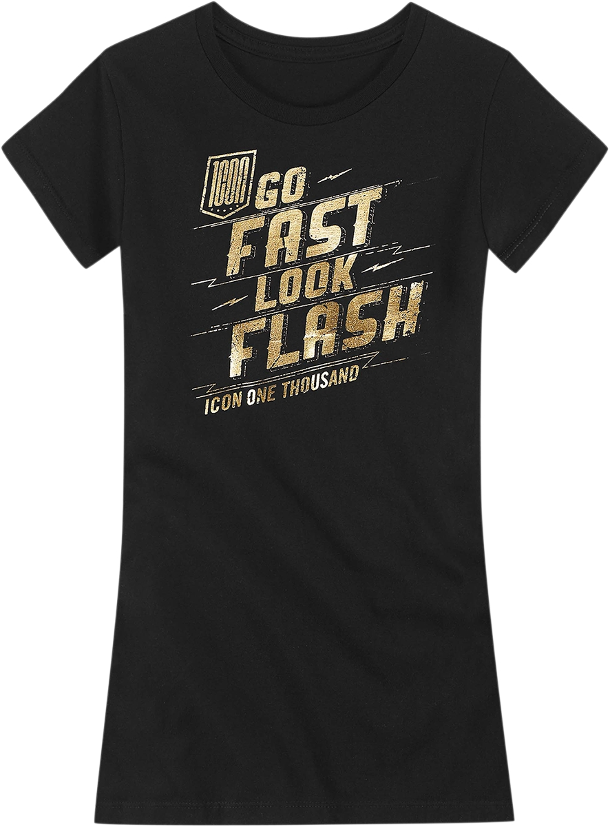 ICON - 1000 1000 Women's Flash T-Shirt