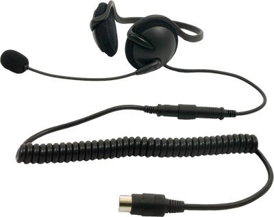 IMC Motorcom Half Headset