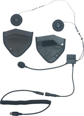 IMC Motorcom Half Helmet Headset with Ear Pouch