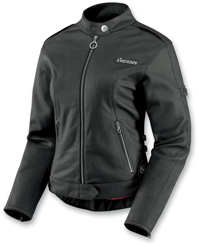 Icon Hella Womens Leather Jacket