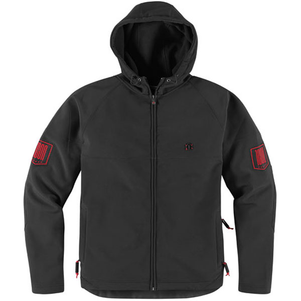 Icon 1000 Hoodlux Softshell Jacket