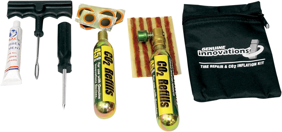 Innovations In Cycling Tire Repair and Inflation Street Kit