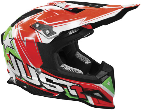JUST 1 J12 Carbon Aster Italy Helmet