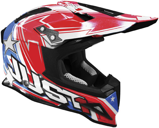 JUST 1 J12 Carbon Aster USA Helmet