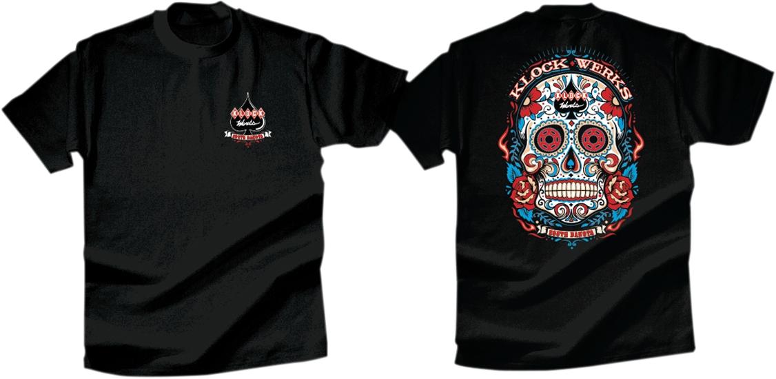 Klock Werks Sugar Skull T-Shirt