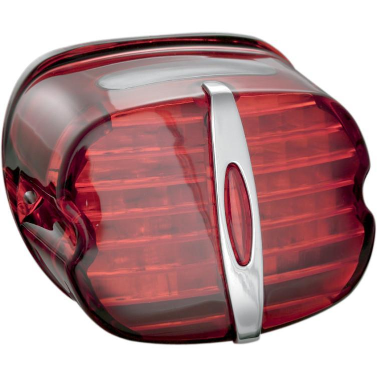 Kuryakyn Deluxe Panacea Taillight Lens with Tag Light Window