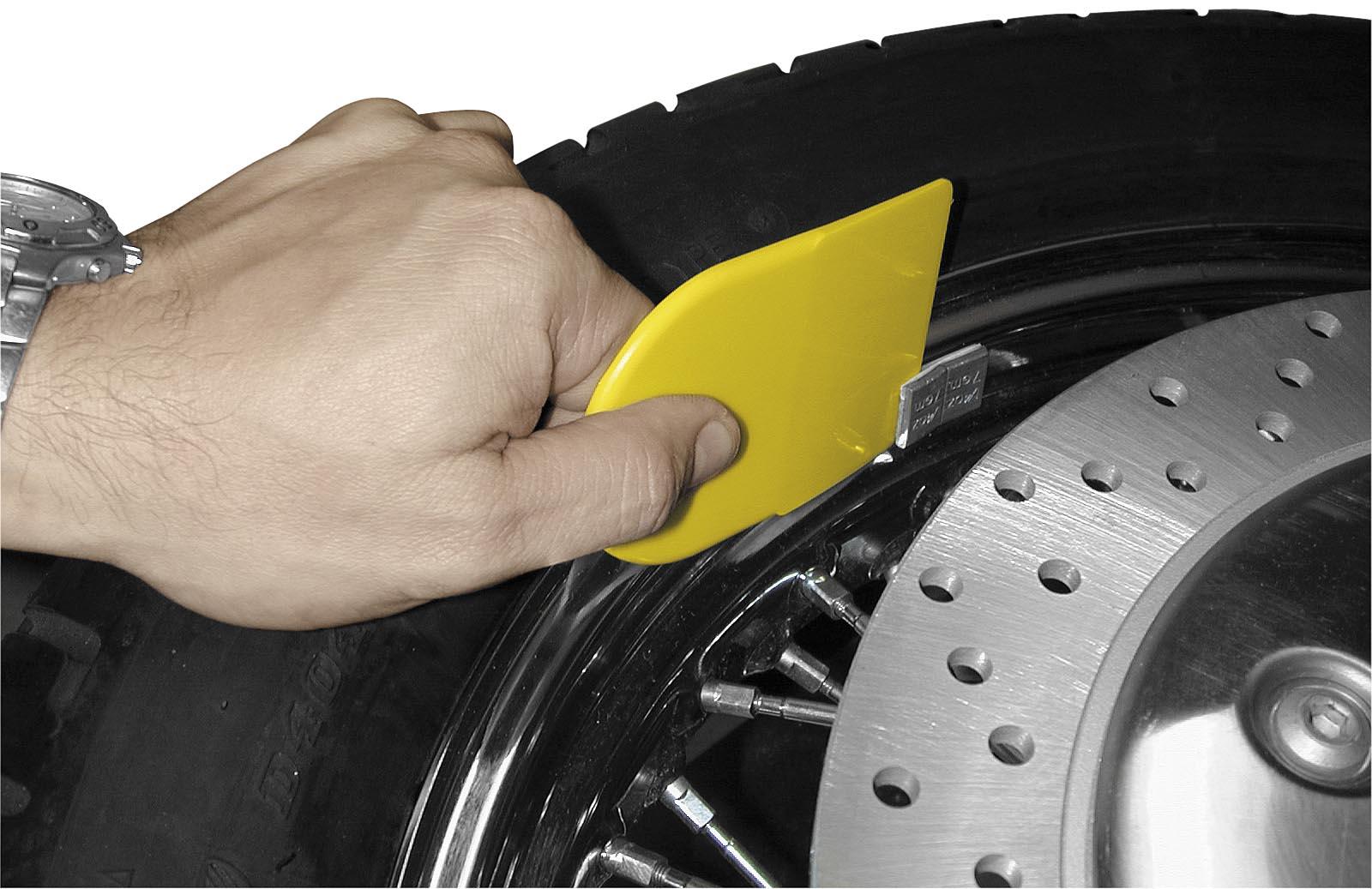 Wheel Weight Scraper