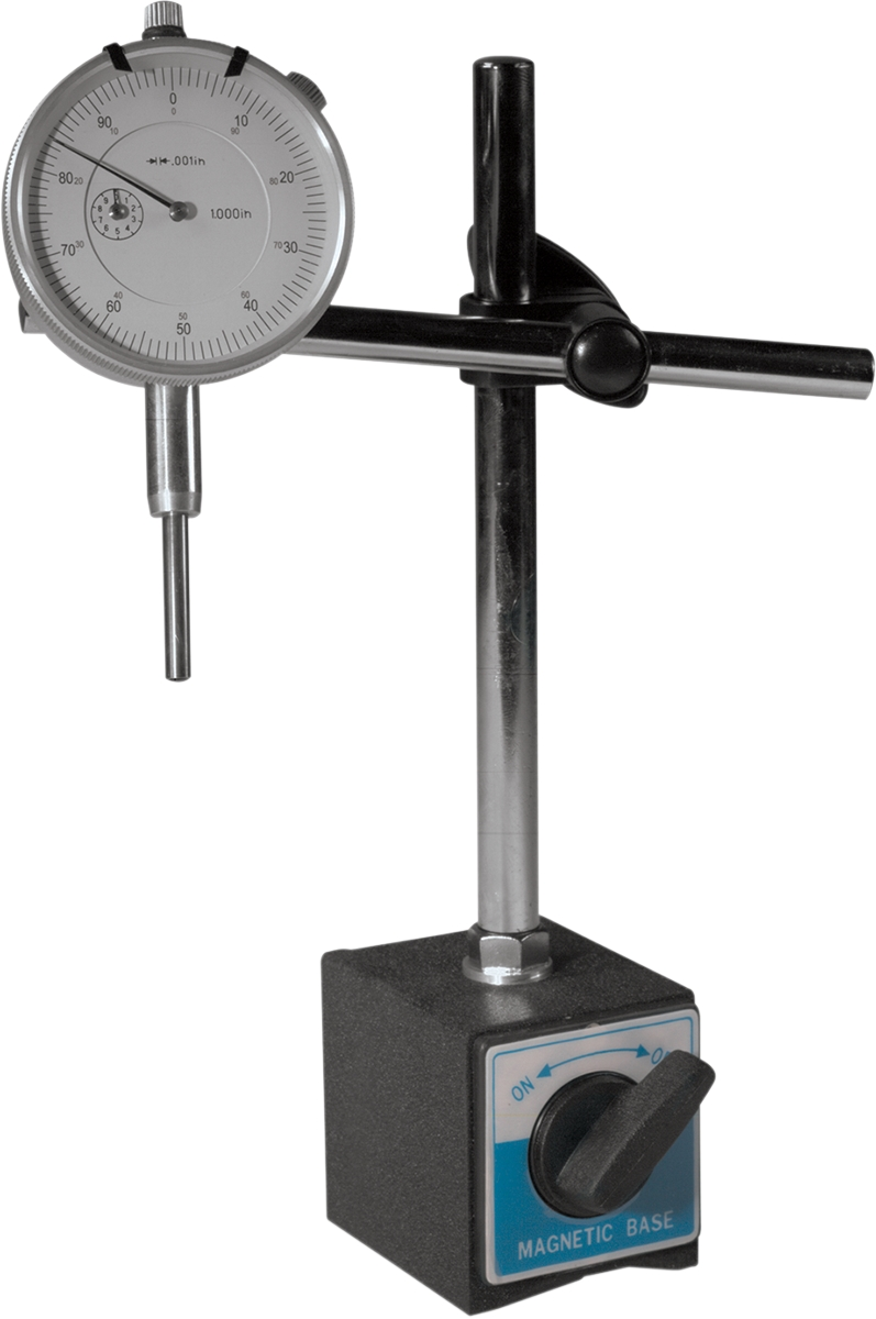 Dial Indicator Mounting In Collet : K l supply dial indicator gauge with magnetic base